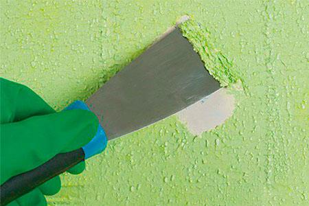 Как удалить старую краску   Блог Стройсматом   Первый строительный интернет-рынок