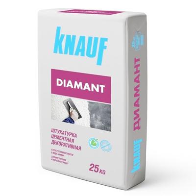 Штукатурка цементная Кнауф Диамант 260 сахара 25 кг
