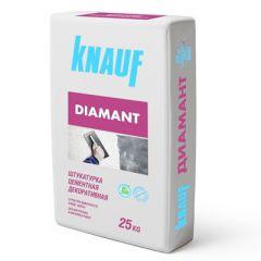 Штукатурка цементная Кнауф Диамант 260 светлая сахара 25 кг