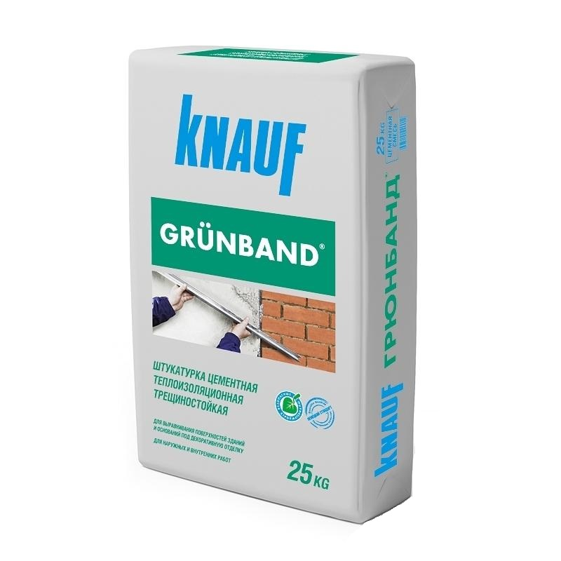 Штукатурка цементная Кнауф Грюнбанд 25 кг
