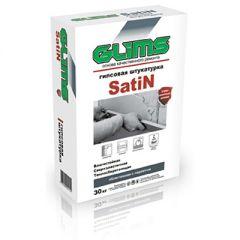 Штукатурка гипсовая Glims Satin облегченная с перлитом 30 кг