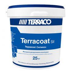 Штукатурка силиконовая Террако Терракоат Микро 25 кг