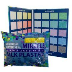 Шёлковая декоративная штукатурка Silk Plaster Миракл 1019