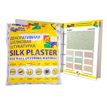 Шёлковая декоративная штукатурка Silk Plaster Экодекор 110