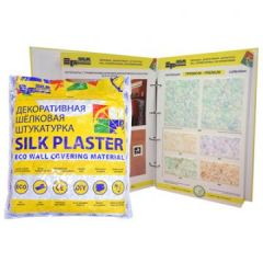 Шёлковая декоративная штукатурка Silk Plaster Премиум 808