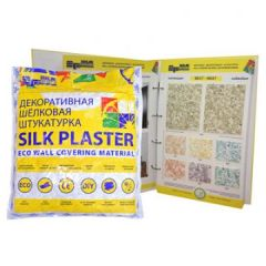 Шёлковая декоративная штукатурка Silk Plaster Вест 935
