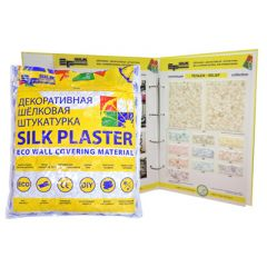 Шёлковая декоративная штукатурка Silk Plaster Рельеф 323