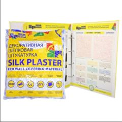 Шёлковая декоративная штукатурка Silk Plaster ЭкоЛайн 764