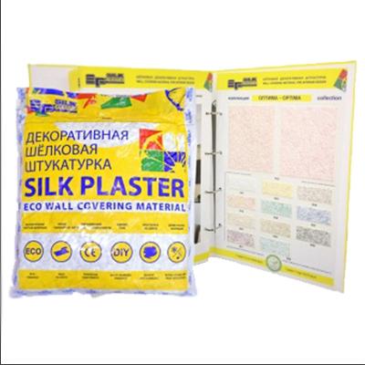 Шёлковая декоративная штукатурка Silk Plaster ЭкоЛайн 765