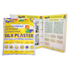 Шёлковая декоративная штукатурка Silk Plaster Престиж 409