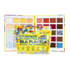 Шёлковая декоративная штукатурка Silk Plaster Арт Дизайн 254