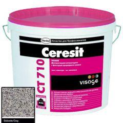 Штукатурка Ceresit CT 710 Visage Гранит Dolomite Grey 20 кг