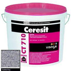 Штукатурка Ceresit CT 710 Visage Гранит Sardinia Grey 20 кг