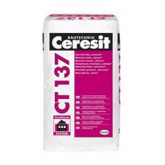 Штукатурка минеральная Ceresit CT 137 Камешковая белая 1,0 мм 25 кг