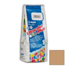 Затирка цементная Mapei Ultracolor Plus №140 красный коралл 2 кг