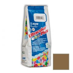 Затирка цементная Mapei Ultracolor Plus №142 коричневая 2 кг