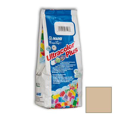 Затирка цементная Mapei Ultracolor Plus №160 магнолия 2 кг