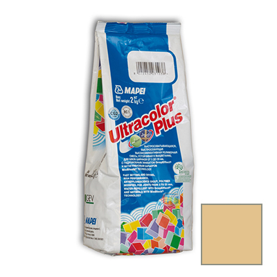 Затирка цементная Mapei Ultracolor Plus №258 бронзовая 2 кг