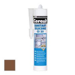 Затирка силиконовая Ceresit CS 25 темно-коричневая №58 0,28 л