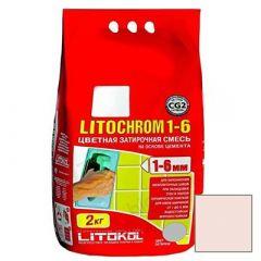 Затирка цементная Litokol Litochrom 1-6 С.70 светло-розовая 2 кг