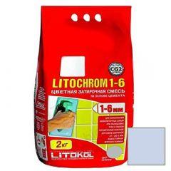 Затирка цементная Litokol Litochrom 1-6 С.110 голубая 2 кг