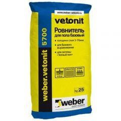 Пол наливной Weber-Vetonit 5700 25 кг