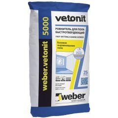 Ровнитель для пола Weber-Vetonit 5000 25 кг