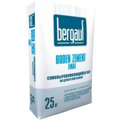 Пол наливной Bergauf Boden Zement Final самовыравнивающийся 25 кг