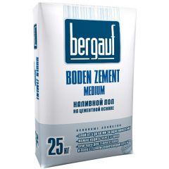 Пол наливной Bergauf Boden Zement Medium 25 кг