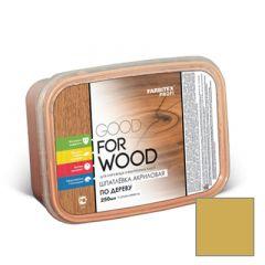 Шпатлевка акриловая Fabritex Good For Wood по дереву бук 250 мл