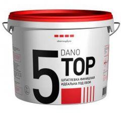Шпатлевка полимерная DANO TOP 5 финишная 10 л