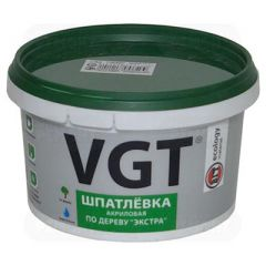 Шпатлевка акриловая по дереву VGT Экстра сосна 1 кг
