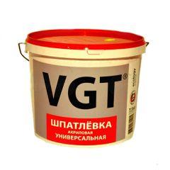 Шпатлевка акриловая VGT Универсальная 7,5 кг