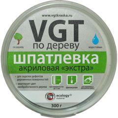 Шпатлевка акриловая по дереву VGT Экстра махагон 0,3 кг