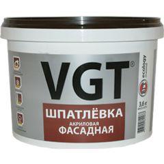 Шпатлевка акриловая VGT фасадная 3,6 кг