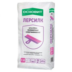 Шпатлевка полимерная Основит Лерсилк Т-37 белый 20 кг