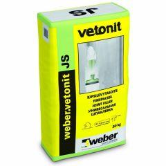 Шпатлевка полимерная Weber-Vetonit JS белый 20 кг
