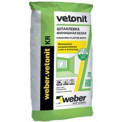 Шпатлевка полимерная Weber-Vetonit KR белый 20 кг