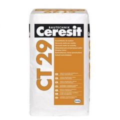Шпатлевка цементно-известковая Ceresit CT 29 25 кг