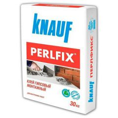 Клей гипсовый монтажный Кнауф Перлфикс 30 кг