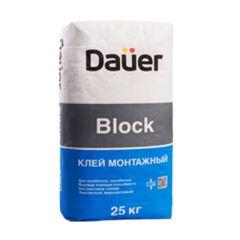 Клей монтажный Dauer Block 25 кг