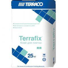 Клей для плитки Террако Террафикс серый 25 кг