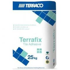 Клей для плитки Террако Террафикс гранит серый 25 кг