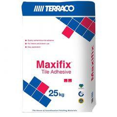 Клей для плитки Террако Мастфикс белый 25 кг