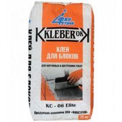 Клей для блоков Финстрой Kleber ok КС-06 Elite 25 кг