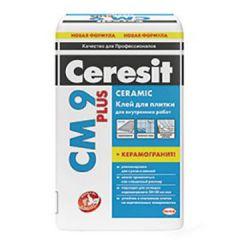 Клей для плитки Ceresit СМ 9 Plus 25 кг