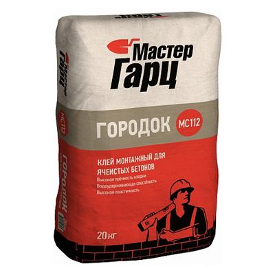 Клей монтажный Мастер Гарц Городок MC112 20 кг