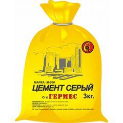 Цементная смесь Гермес М 500 серая 3 кг