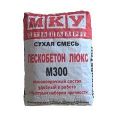 Смесь цементная МКУ Стандарт Пескобетон М-300 Люкс 40 кг