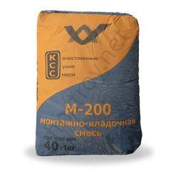 Монтажно-кладочная смесь Финстрой (КСС) М-200 40 кг